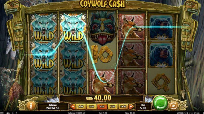 Coywolf Cash Slot Game