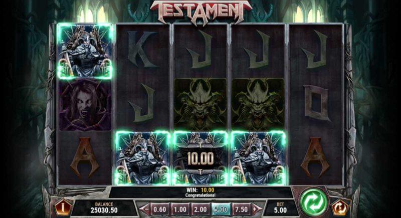 Testament Video Slot Game