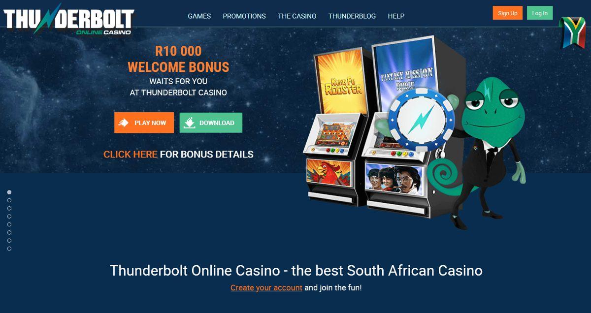 Thunderbolt Casino Website