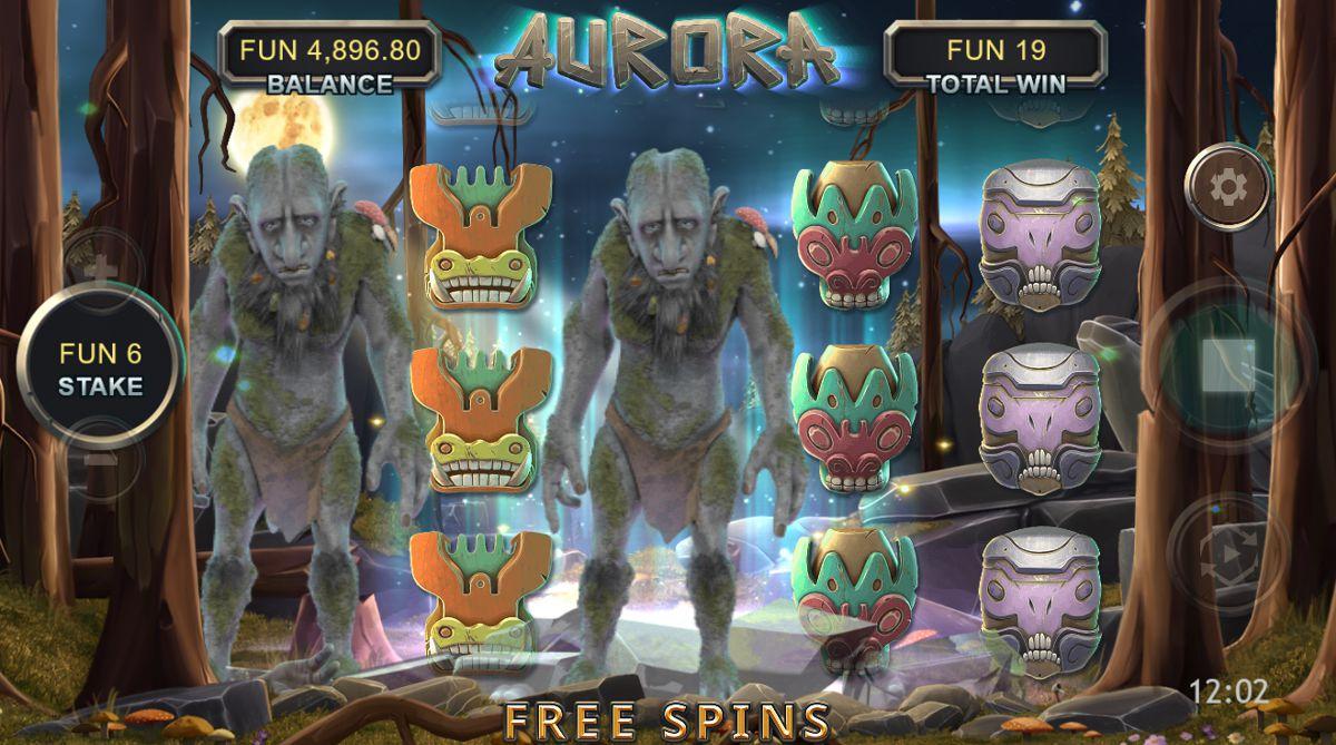 Aurora Video Slot Game