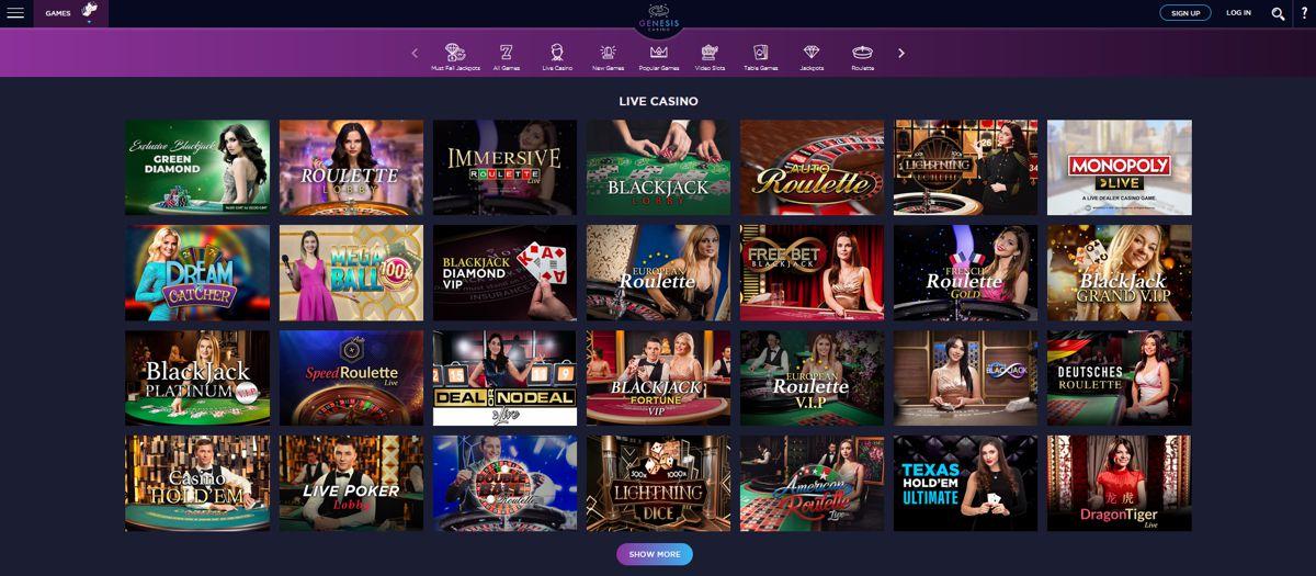 Genesis Casino Review 2