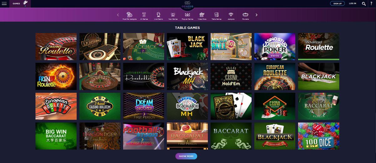Genesis Casino Review 1
