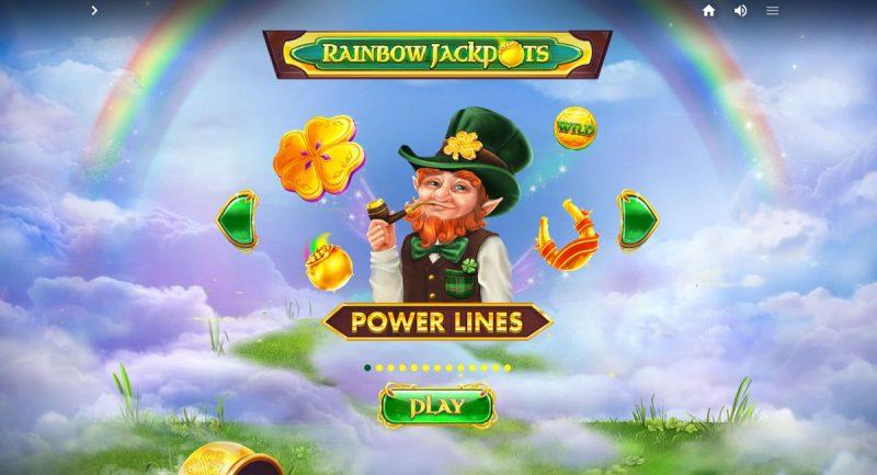 Rainbow Jackpots Power Lines Slot Game