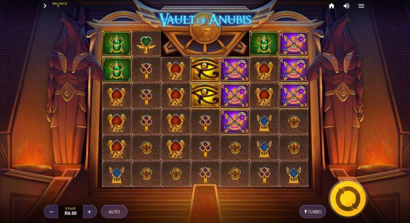 Vault of Anubis Video Slot Game