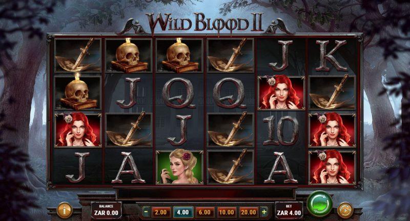 Wild Blood II Slot Game