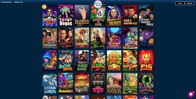 African Grand Casino Games