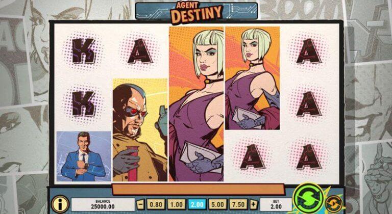 Agent Destiny Video Slot – Let the spy games begin