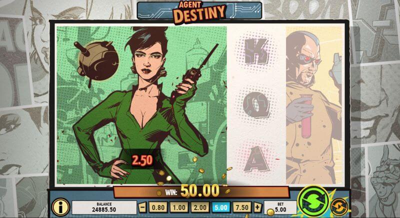 Agent Destiny Video Slot Game