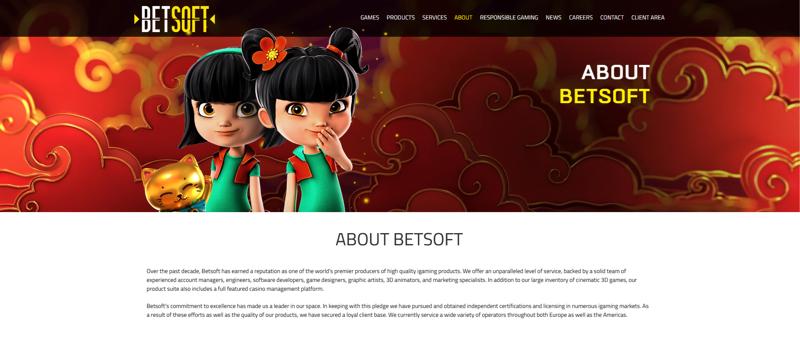 Betsoft Website