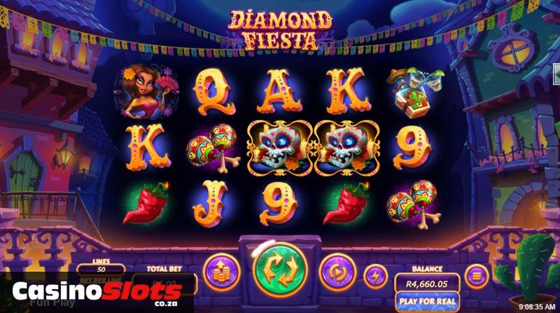 Diamond Fiesta Slot Game