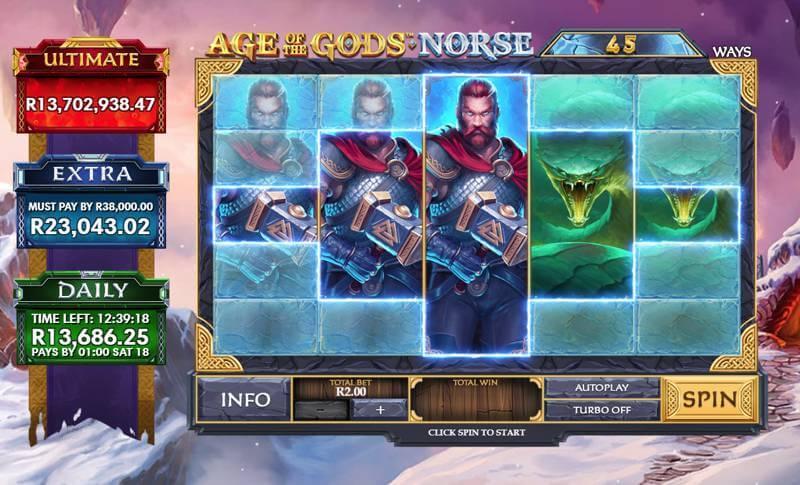 Age of the Gods Norse: Ways of Thunder Layout