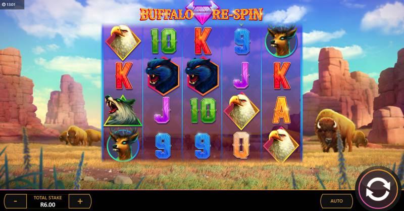 Buffalo Re-Spin Reels