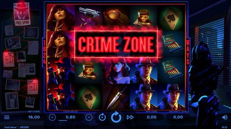 Cash Noire™ Slot Reels