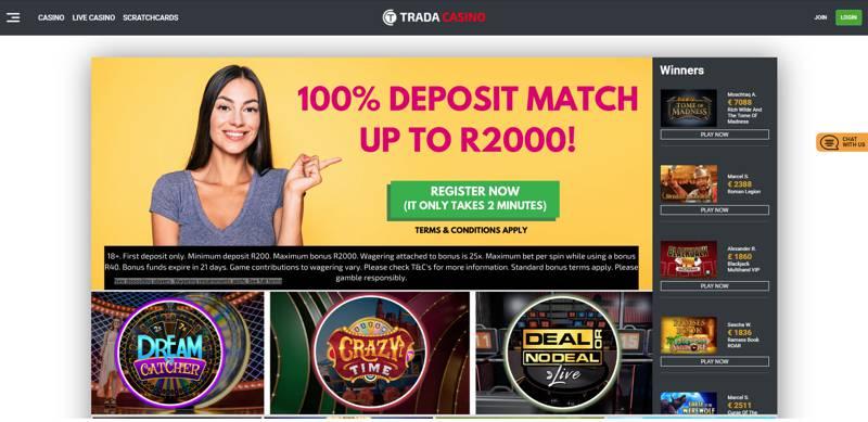 Trada Casino SA Offer