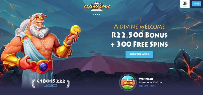 Casino Gods Website