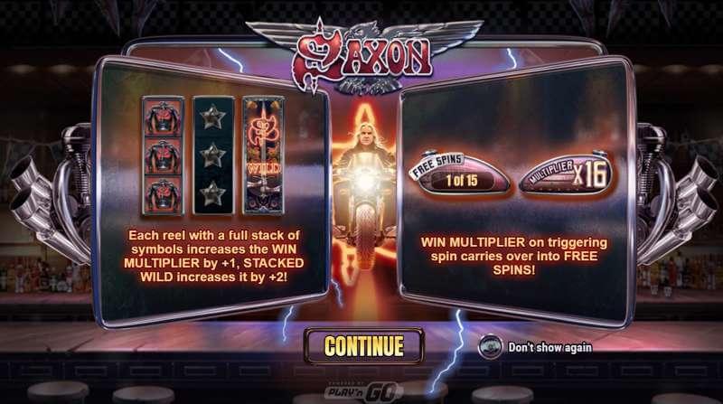 Saxon Video Slot Game