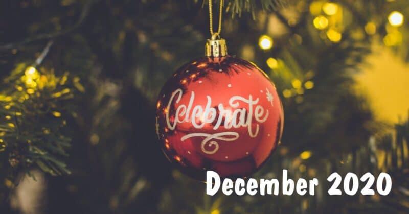 December 2020 Holidays