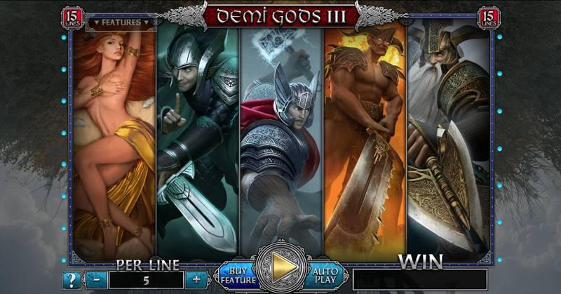 Image of Demi Gods III Slot Game
