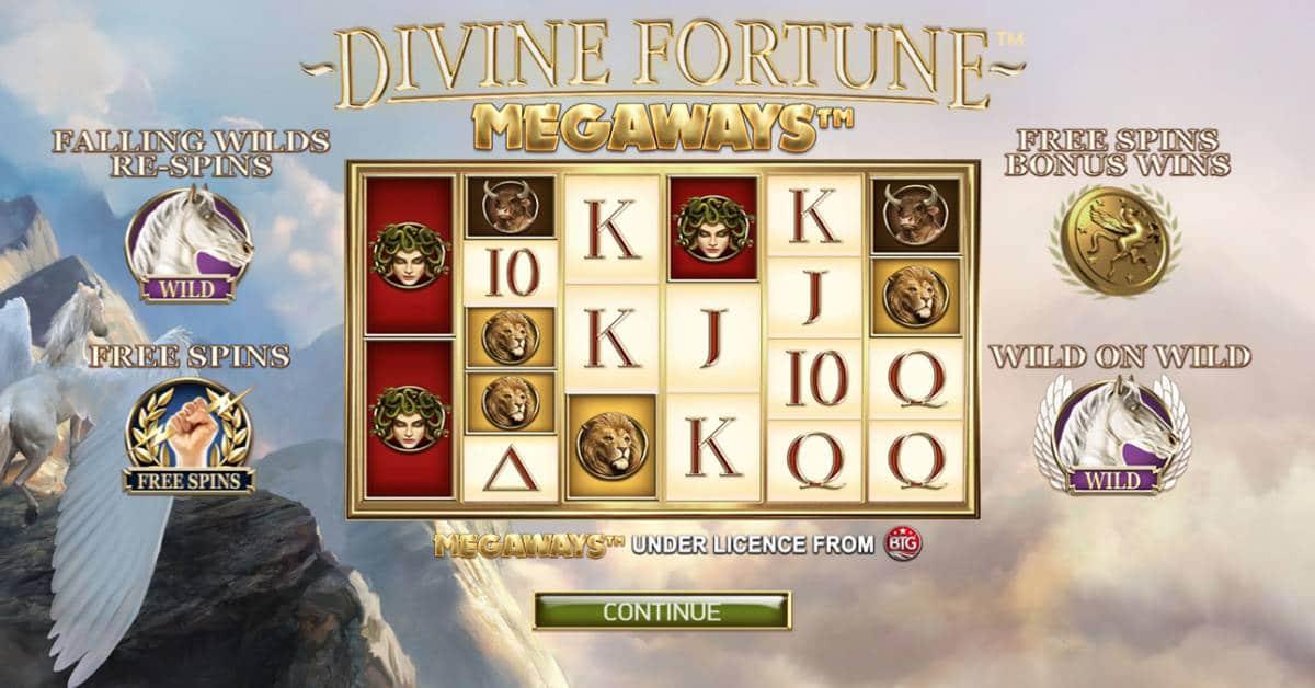 Image of Divine Fortune Megaways