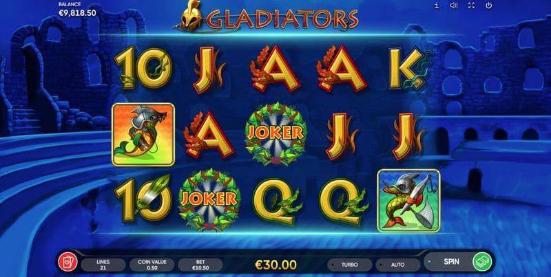 Gladiators Slot Game Image