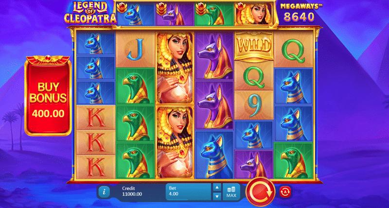 Legend of Cleopatra Slot Game Image