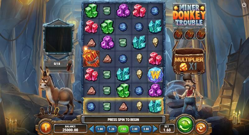 Image of Miner Donkey Trouble Slot Game