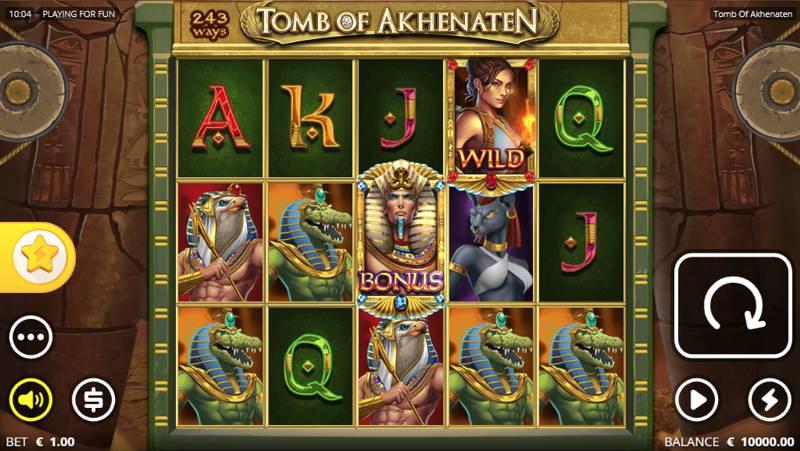 Image of Tomb of Akhenaten Video Slot