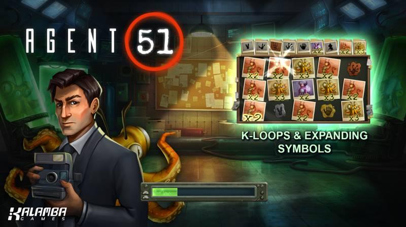 Agent 51 Slot Game