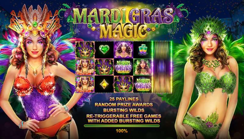Mardi Gras Magic Slot Game