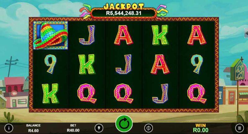 Jackpot Pinatas Deluxe Slot Reels