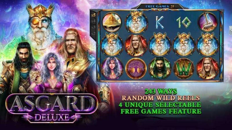 Asgard Deluxe Slot Game