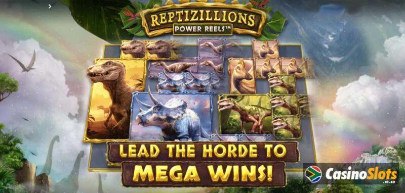 Reptizillions Power Reels Video Slot