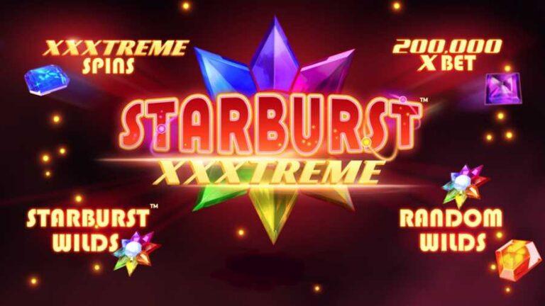 NetEnt studios proudly presents Starburst XXXtreme slot game