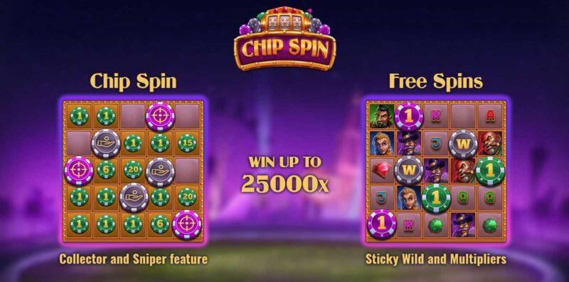 Chip Spin Bonus Features